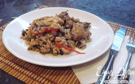 "Рецепт Курица ""Пестрая"" с рисом"