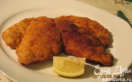 Рецепт Венский шницель (Wiener Schnitzel)
