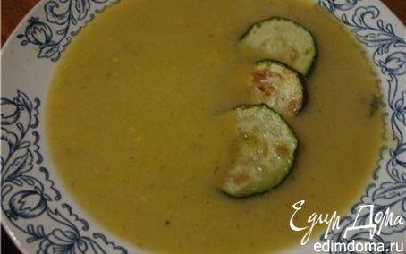 Рецепт Суп пюре из цукини