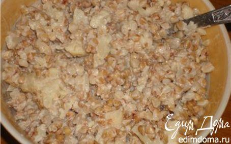 Рецепт Каша Гречневая с цветной капустой и молоком