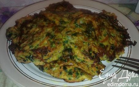 Рецепт Овощные оладушки от Polinka