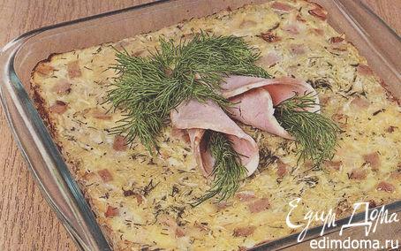 Рецепт Капустная запеканка с беконом