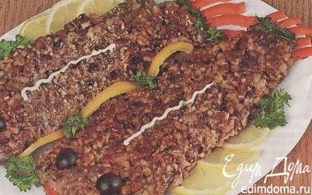 Рецепт Рыба в грецких орехах