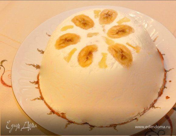 Сливочный мягкий торт