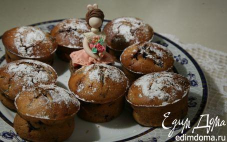 Рецепт Ванильные кексы с ежевикой