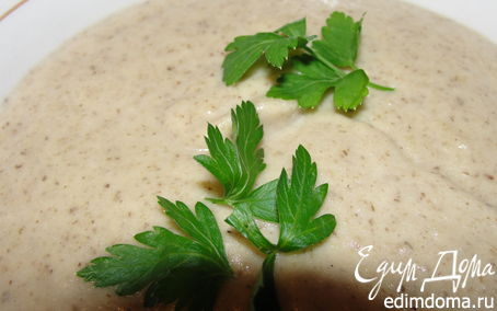 Рецепт Крем-суп из шампиньонов от Оля_