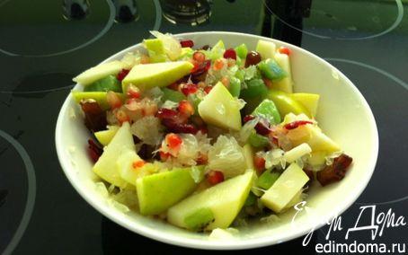 Рецепт Зимне-восточный салат