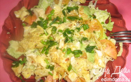 Рецепт Пекинский салат к завтраку