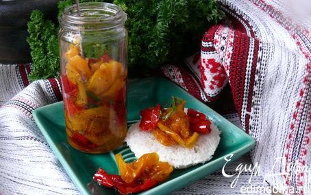 Рецепт Вяленые перцы