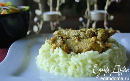 Рецепт Филе курицы в сметане