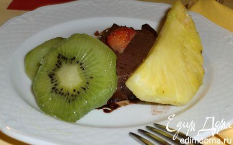 Рецепт шоколадный баварский крем с корицей