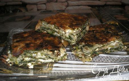 Рецепт Зелень в лаваше
