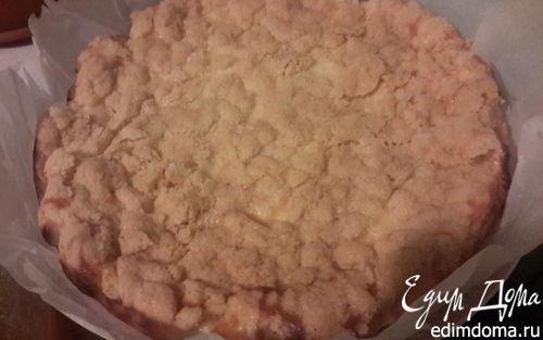Рецепт Сладкий творожный пирог