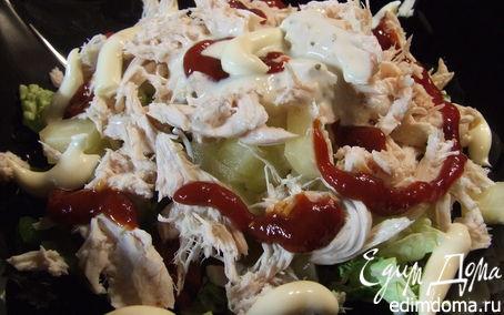 Рецепт Салат по-пекински