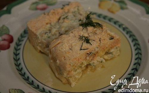 Рецепт Террин из рыбы с имбирем