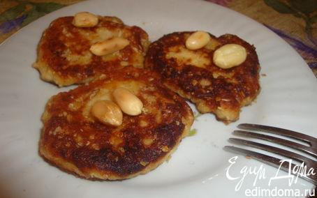Рецепт Овсяно-банановые сырнички