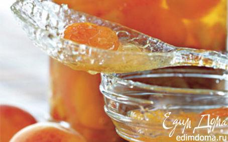 Рецепт Джем из сушеных абрикосов и ананасов