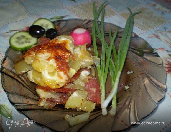 Печеная картошечка