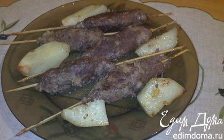 Рецепт Кебаб из лосятины