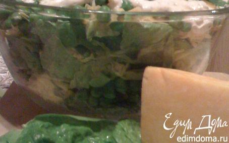 """Рецепт Салат """"Тэнги"""" из зеленого горошка"""
