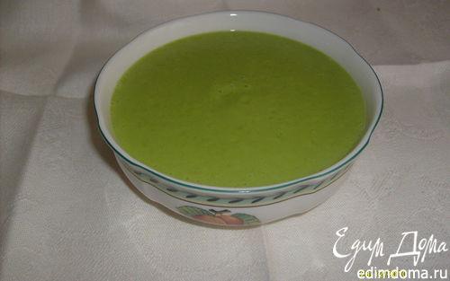 Рецепт Суп-пюре из зелёного горошка