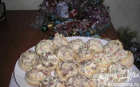 Рецепт Новогодние волованы