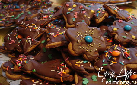 Рецепт Пряное новогоднее печенье