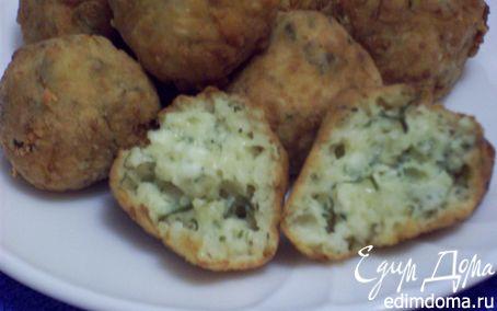 Рецепт Творожно-сырные шарики