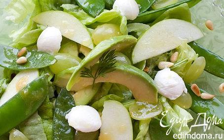 Рецепт Салатик в зеленых тонах