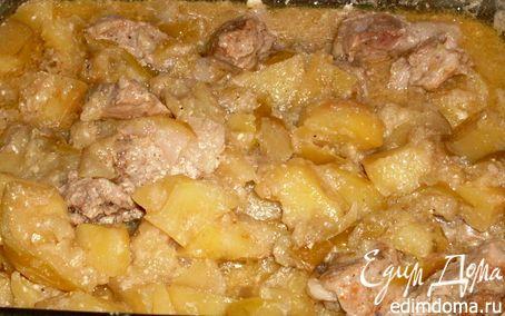Рецепт Свинина в яблоках