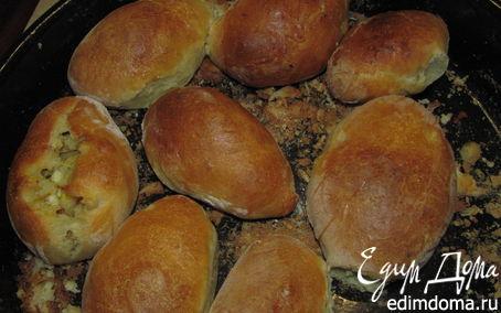 Рецепт Пирожки с рисом и яйцом