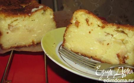 Рецепт Кекс творожный с яблочным ароматом