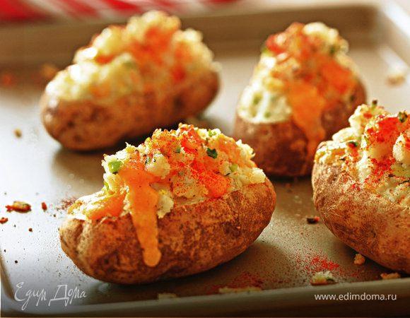 Дважды запеченная картошка