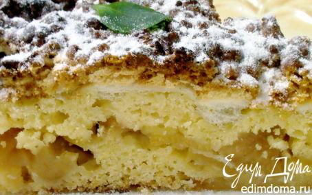 Рецепт Тертый яблочный пирог