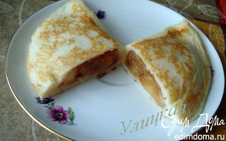 Рецепт Блинчиковые пирожки