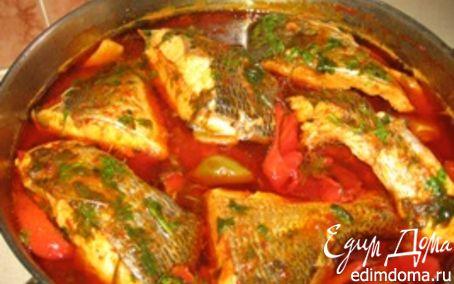 Рецепт Рыба острая по - мароккански (тунец)