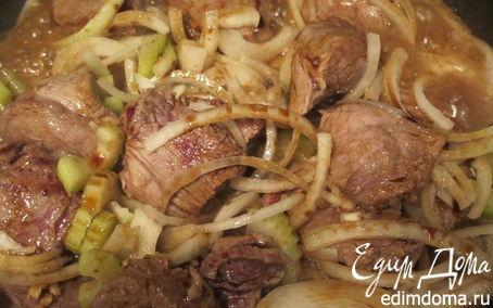 Рецепт Вырезка с имбирем и сельдереем