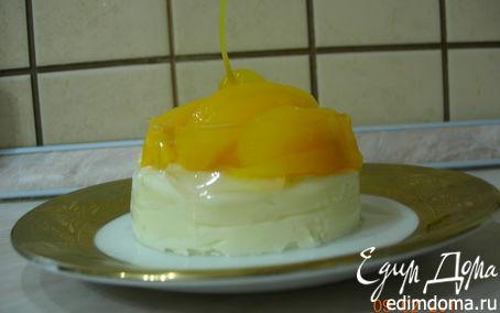 Рецепт Мини - чизкейк с персиками