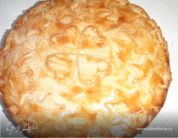 Швейцарский ореховый торт.