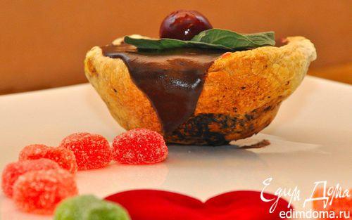 Рецепт Португальские пирожные ко дню Св.Валентина