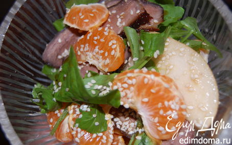 Рецепт Салат-импровизация Mandarina&Duck