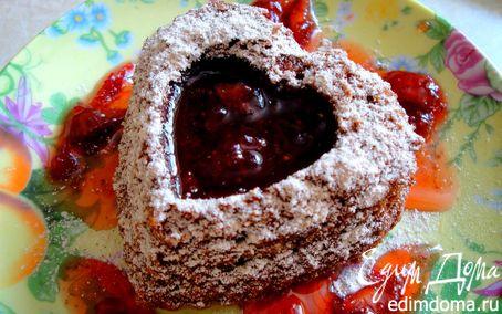 Рецепт Кекс с яблоками и фундуком