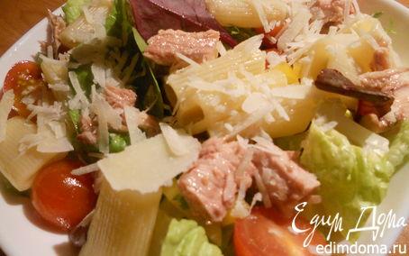 Рецепт Салат из пасты с тунцом