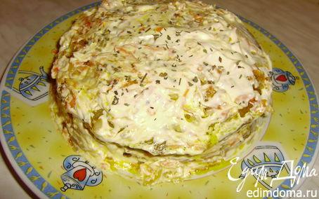 Рецепт Печеночный тортик