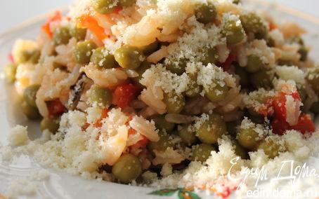 Рецепт Зеленый горошек по-итальянски