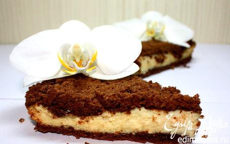 Рецепт Творожный «Торфяной» пирог
