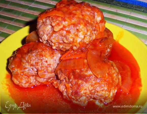 Тефтельки в томатном соусе