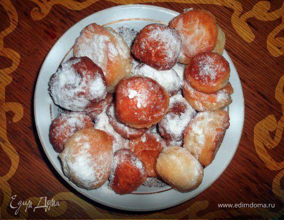 Сырные пончики