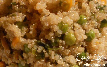 Рецепт Киноа с шампиньонами и овощами