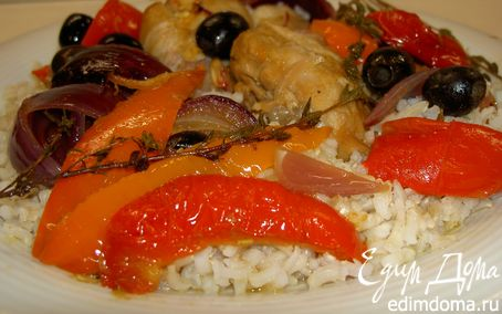 Рецепт Цыпленок по-испански